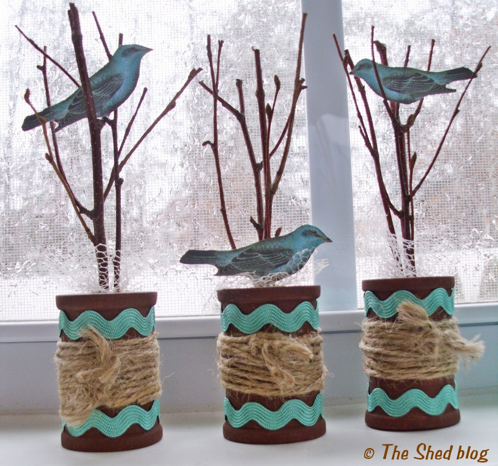 Spring Spool Craft Tutorial