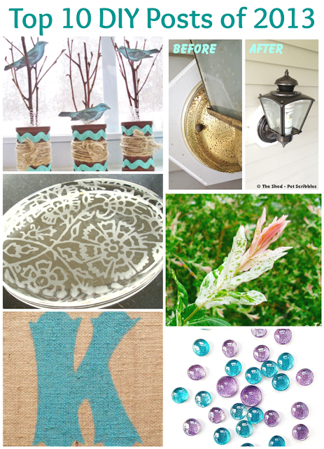 Top 10 craft, DIY and gardening posts of 2013 | Pet Scribbles