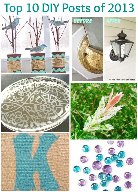 Top 10 craft, DIY and gardening posts of 2013   Pet Scribbles