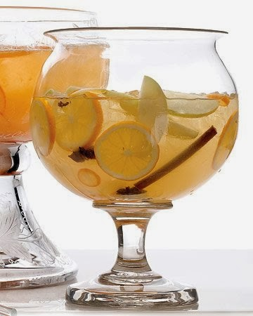 Mulled White Wine Sangria Recipe from MarthaStewart.com