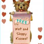 Free Printable Dog Valentine!
