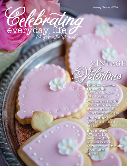 Celebrating Everyday Life with Jennifer Carroll: the Valentine's Day edition is a gorgeous, stunning and inspiring magazine!