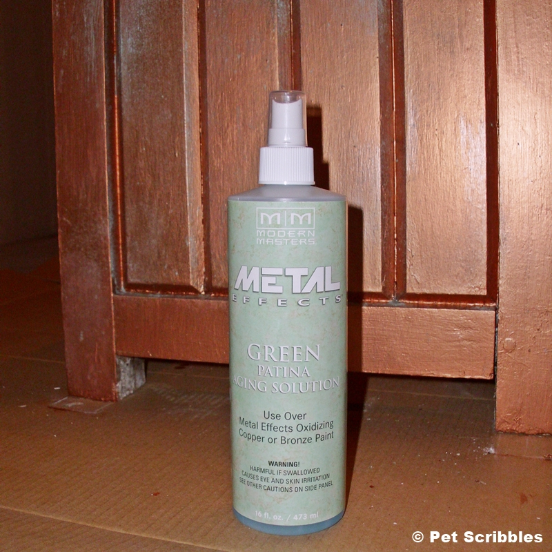 Modern Masters Green Patina Aging Solution