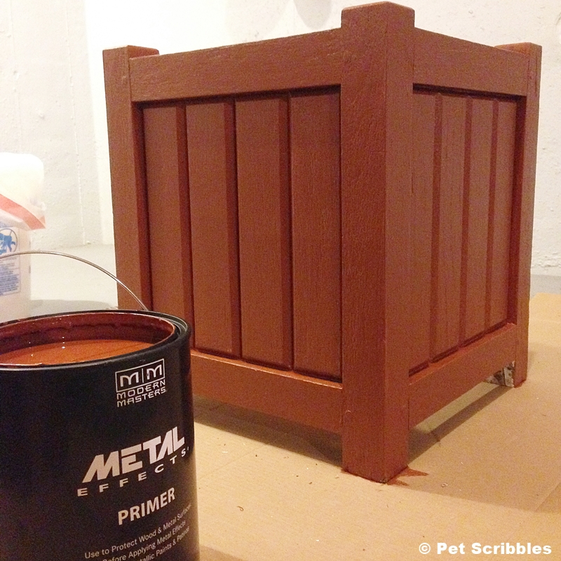 Modern Masters Metal Effects Primer on Wood