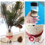 How-to: Valentine's Day Spice Jar Bud Vase