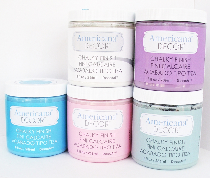 Americana Deccor Chalky Finish Paints by DecoArt