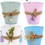 Peat Pot Wedding Favors DIY and Video
