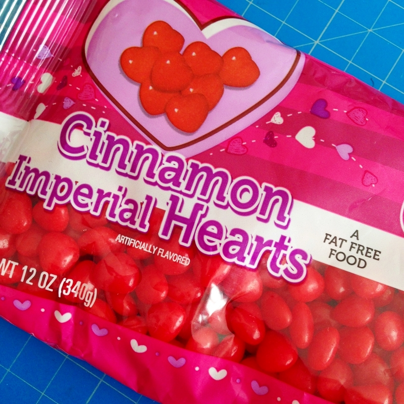 Red Hots -- Cinnamon Imperial Hearts Candy
