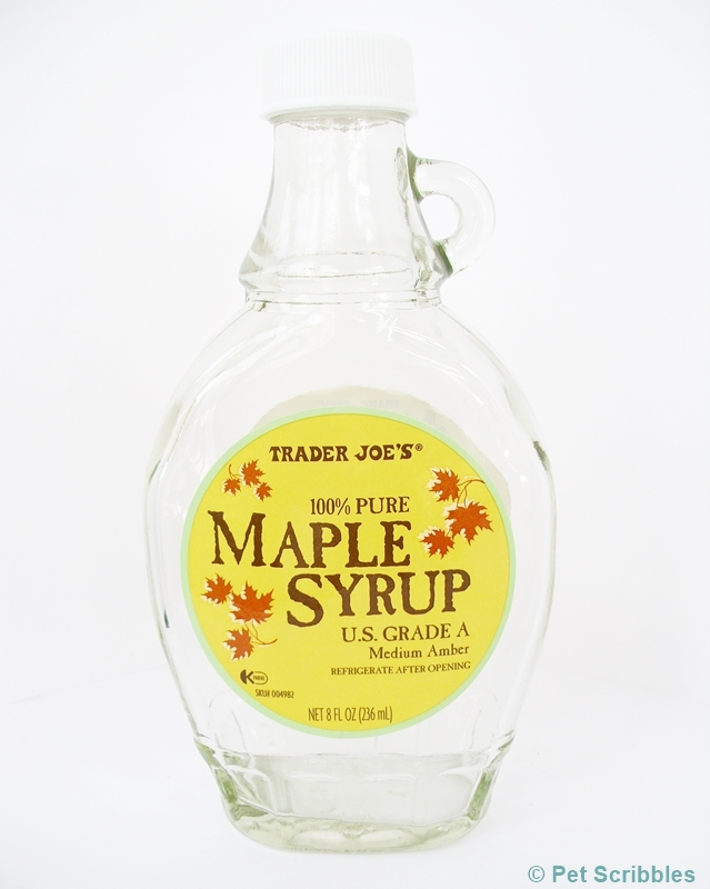 This Trader Joe's maple syrup bottle is perfect to transform into a shabby style altered bottle!