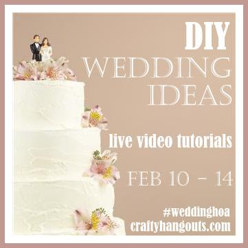 DIY Wedding Videos on CraftyHangouts.com