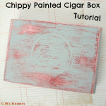 Chippy Paint Altered Cigar Box