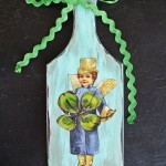 Make a Leprechaun Fairy Plaque for St. Patrick's Day!