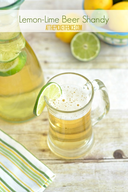 Lemon-Lime Beer Shandy | At the Picket Fence