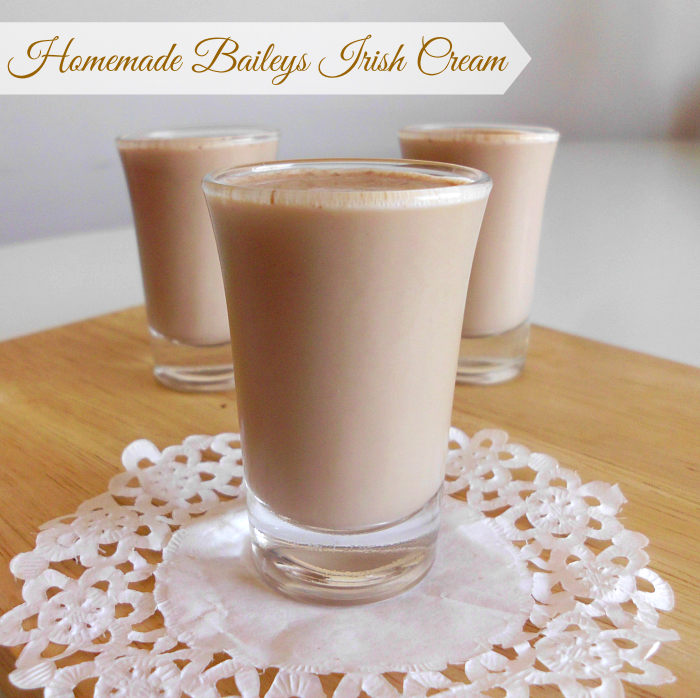 Homemade Bailey's Irish Cream | Pink Recipe Box