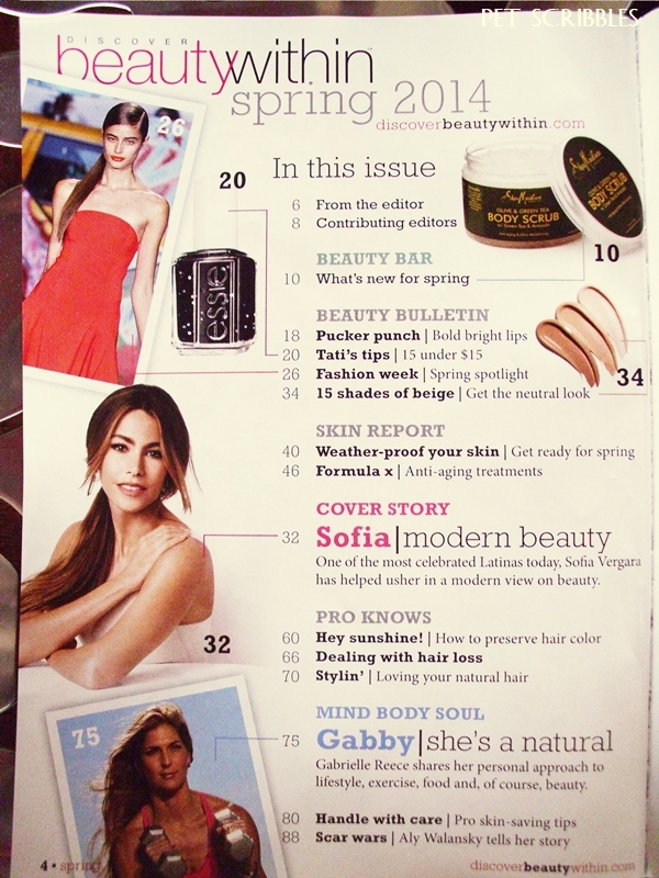 Discover Beauty Within: my new favorite beauty magazine and I'm NOT being paid to say this!