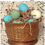 My Elegant Faux Springtime Eggs are on Parade Magazine's website!