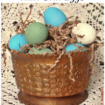 Faux Bird Eggs DIY