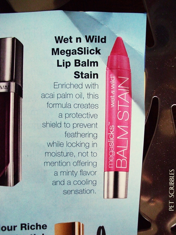 A lip stain + lip balm with a minty flavor? Yes please!