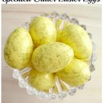Speckled Glitter Easter Eggs Tutorial
