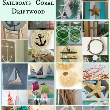 70 Nautical Decor DIYs