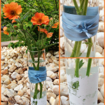 Easy Dollar Store Bud Vase Makeover