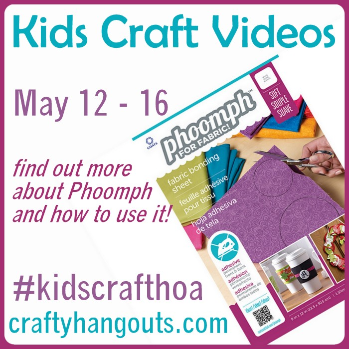Kids Craft Videos using Phoomph at CraftyHangouts.com!
