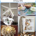 Seashell Decor: 10 Easy DIYs