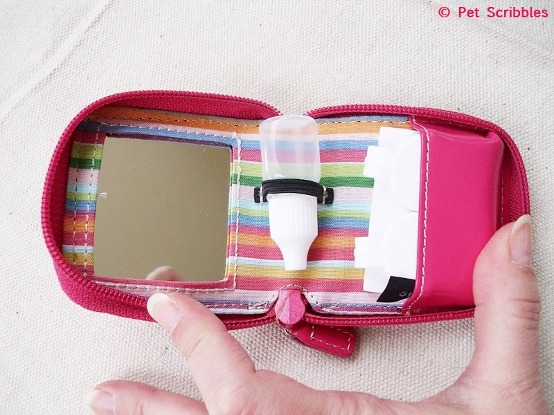 Smartphone Lens Case: Easy solution to protect your tiny camera lenses just by storing them in a repurposed contact lens travel case!