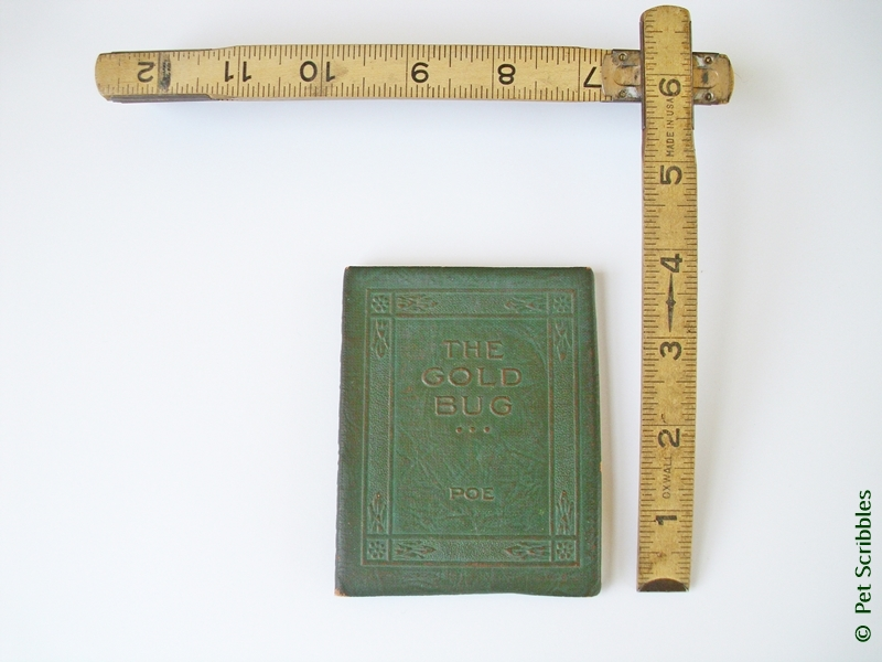 Little Leather Library Book from the early 1900s
