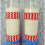 Easiest Way to Attach Ribbon to Glass Pillar Candles