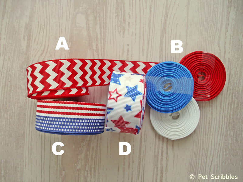 Patriotic Ribbons from The Ribbon Retreat - http://www.theribbonretreat.com/ #ribbonHOA