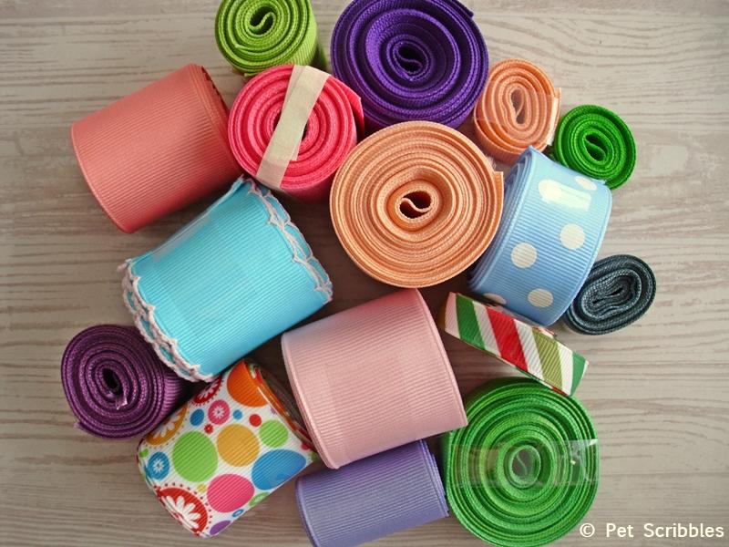 A sampling of ribbons from The Ribbon Retreat - http://www.theribbonretreat.com/ #ribbonHOA