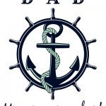 Father's Day Printable: Dad, you are our anchor!