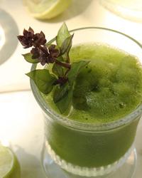 Basil Limeade Slushies recipe | Food & Wine