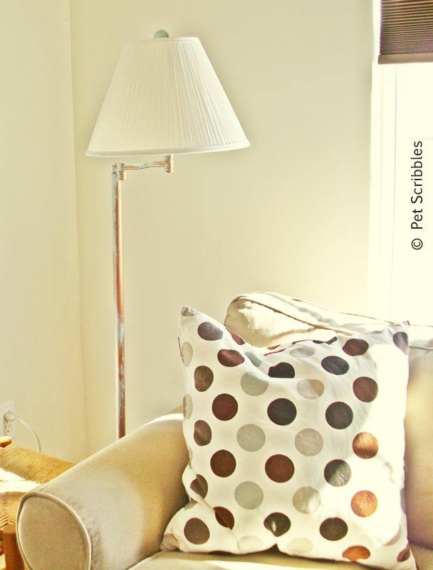 Thrift store lamp makeover!