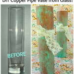 Copper Pipe Vase Tutorial