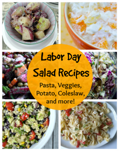 Labor Day Recipes: 8 unique salad ideas!