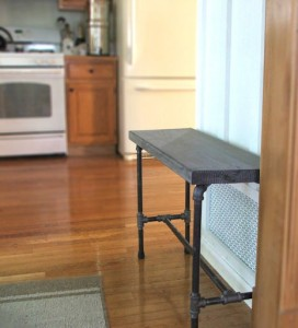 Plumbers Pipe Bench DIY by Dio Home Improvements