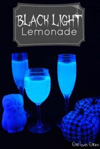 Black Light Lemonade (non-alcoholic)   Girl Loves Glam