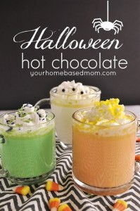Halloween Hot Chocolate: 3 fun ways! (non-alcoholic) | Your Homebased Mom