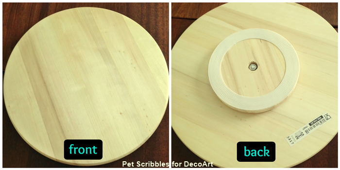 Farmhouse Decor: Lazy Susan DIY