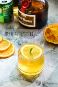Jack-O'-Lantern Cocktail (alcoholic) | A Healthy Life for Me