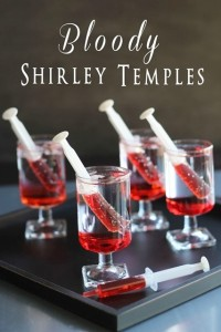 Bloody Shirley Temples (non-alcoholic) | Made from Pinterest
