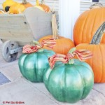 Fall Decor: DIY Metallic Pumpkins