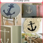 Nautical Anchor Decor: 10 Easy DIYs