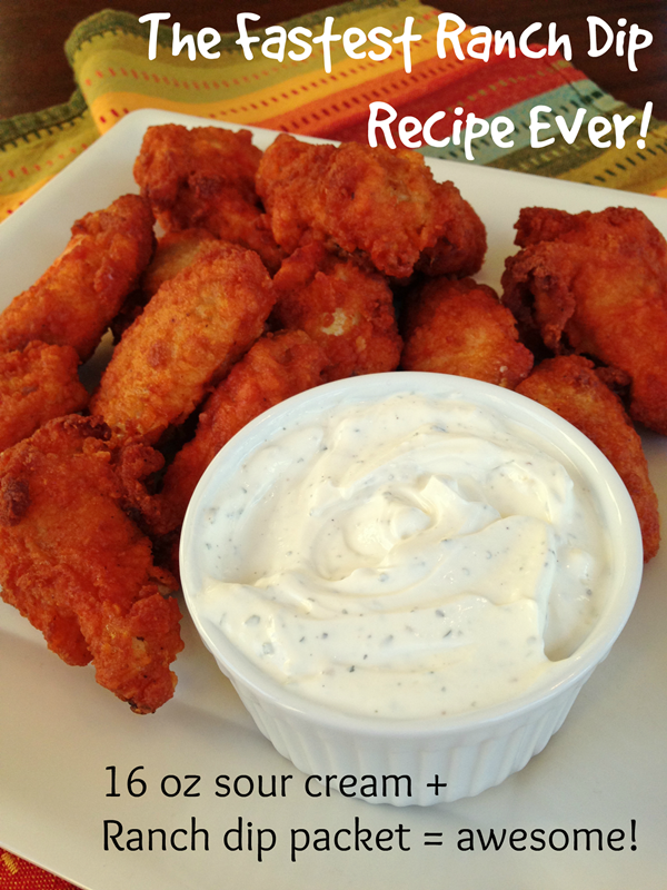 The Fasted Ranch Dip Recipe Ever!