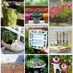 My favorite DIY Garden Planters and Garden Art