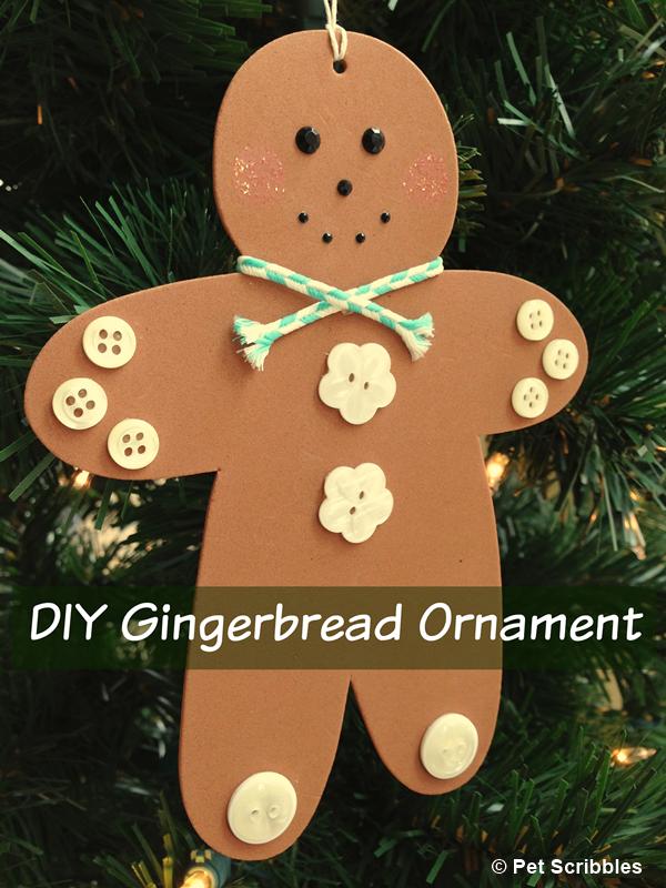 DIY Gingerbread Men Ornaments