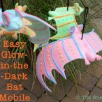 Easy Glow-in-the-Dark Bat Mobile
