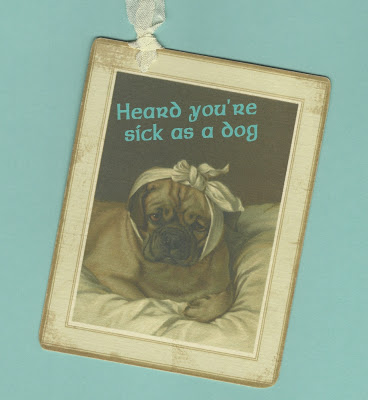 Etsy Sick As A Dog Tag by Pet Scribbles